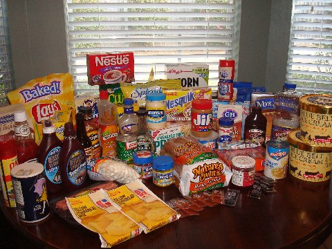 Examples of Processed Foods
