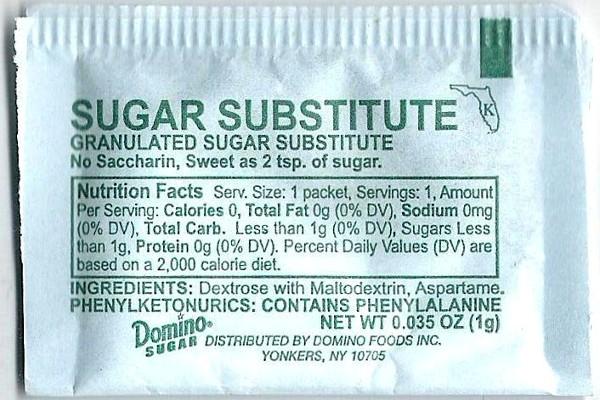 aspartame-artificial-sweetners