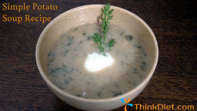 Simple Potato Soup Recipe